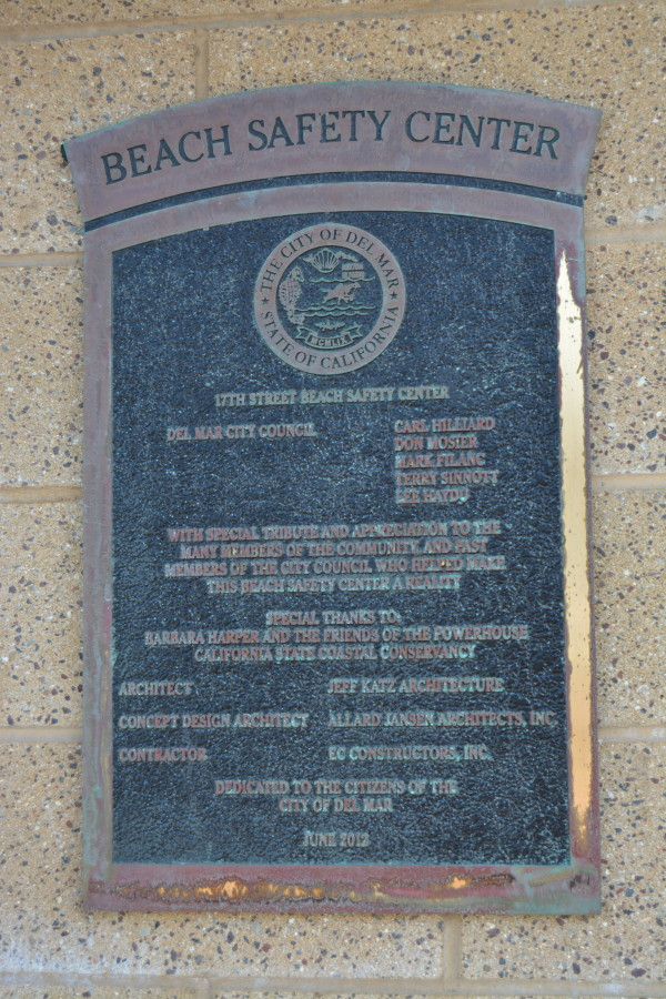 Tower Plaque